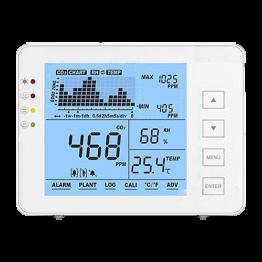 Medidor de CO2, temperatura...